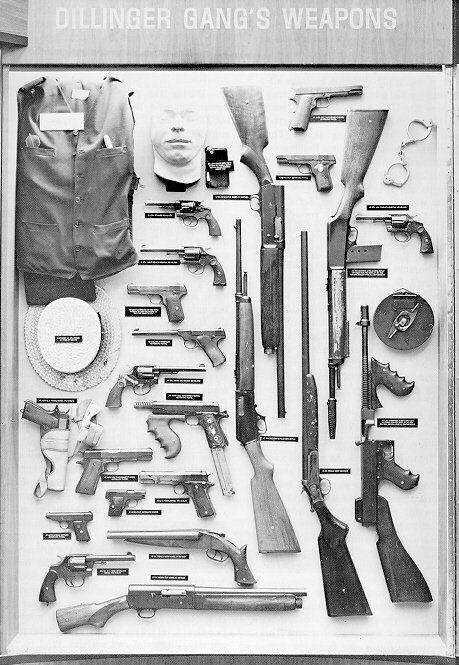 The Guns of the Dillinger Gang