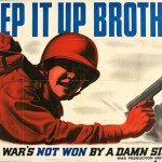 """Damn Sight"" Poster from WWII"