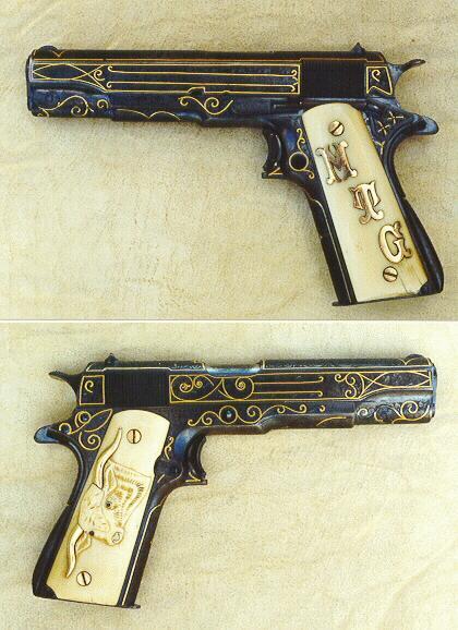 Texas Ranger Capt. M. T. Gonzaullas' Colt .45