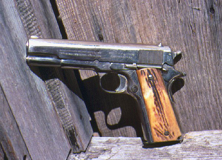 A Texas Ranger M1911