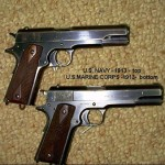 WWI Navy and Marine 1911's