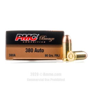 PMC Bronze 380 ACP