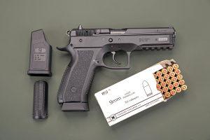 9mm Ammo & Handgun