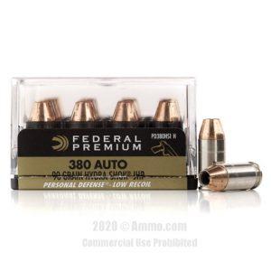 Federal Hydra-Shok 380 ACP