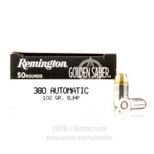 Remington Golden Saber 380 ACP