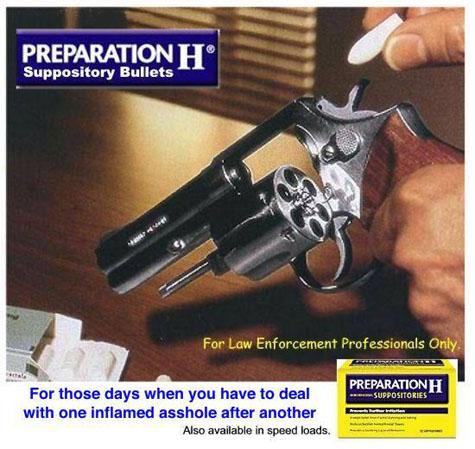 Preparation H Bullets