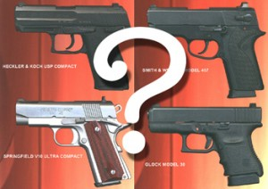 Which pistol to select for concealed carry?