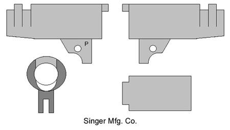 Singer Mfg. Co. M1911 Barrel Markings