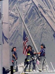 WTC Flag Photo
