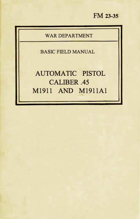 FM 23-35 Cover