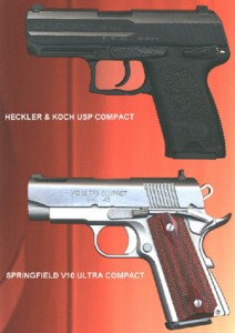 H&K and Springfield Armory Pistols