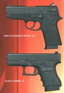 Glock and S&W Pistols
