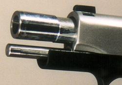 Bull Barrel Muzzle and Full-Length Guide Rod
