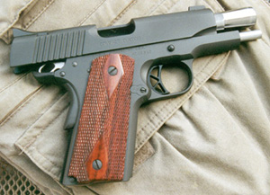 Kimber 1911 Pistol with New Parkerized Finish