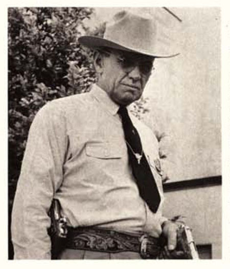 R. A. Crowder, Chief of the Texas Rangers