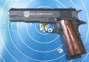 The RIA .45 – a solid performer