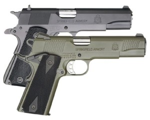 Two Springfield Armory 1911
