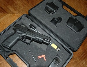 Springfield XD in a box