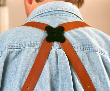 Rear View of the Galco Miami Classic Shoulder Holster