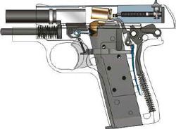 Colt Mustang Cutaway