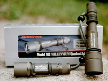 SureFire M2 Centurion and M3 Combat Light