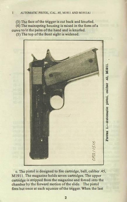 M1911 Manual - Page 6