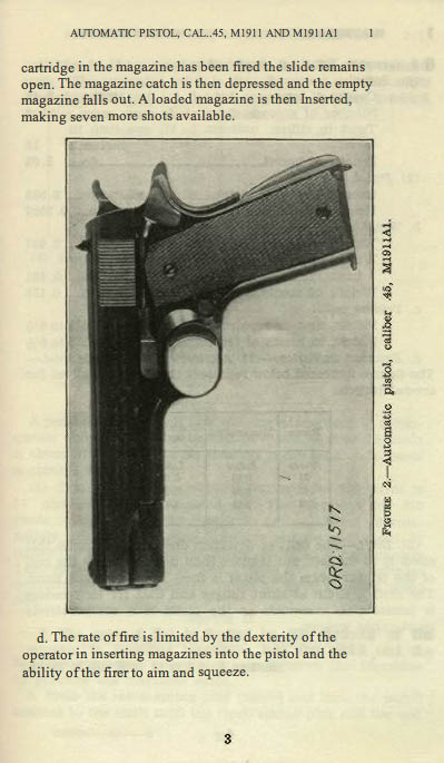 M1911 Manual - Page 7