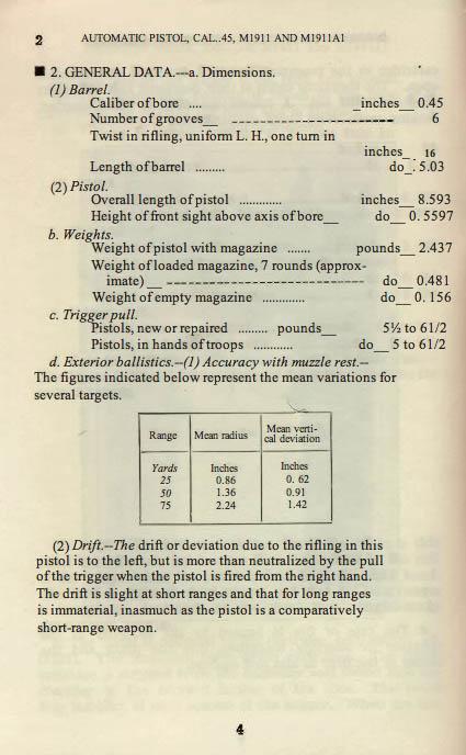 M1911 Manual - Page 8