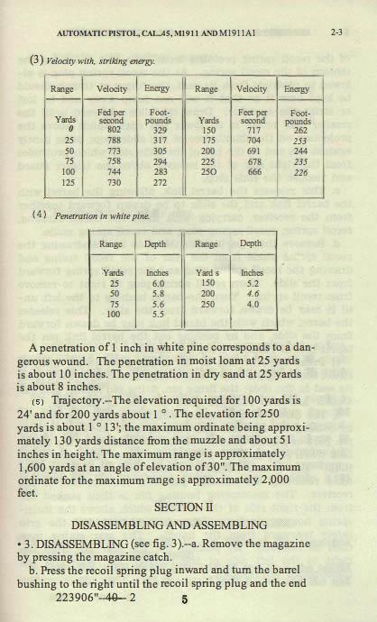M1911 Manual - Page 9