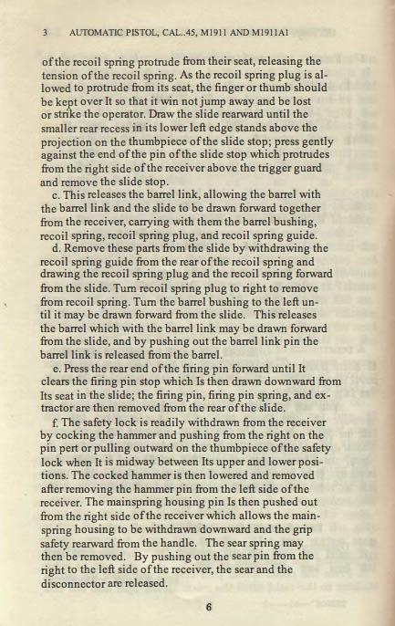 M1911 Manual - Page 10