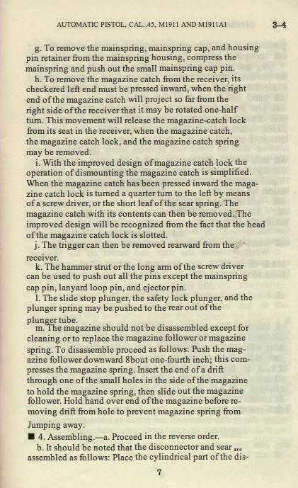 M1911 Manual - Page 13