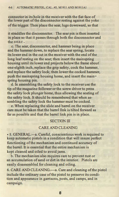 M1911 Manual - Page 14