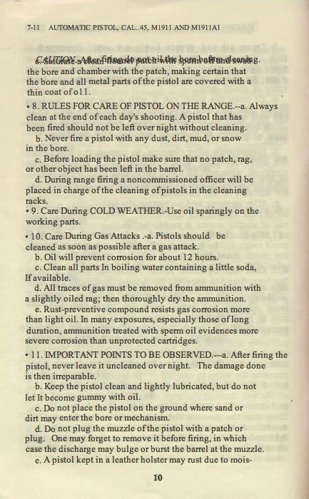 M1911 Manual - Page 16