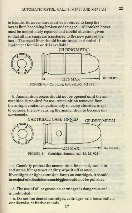 M1911 Manual - Page 23
