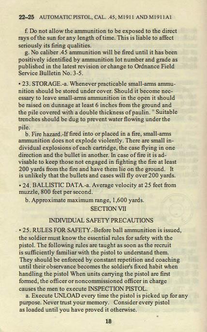 M1911 Manual - Page 24