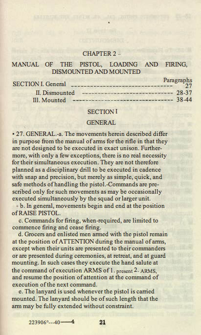 M1911 Manual - Page 27