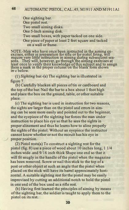 M1911 Manual - Page 36