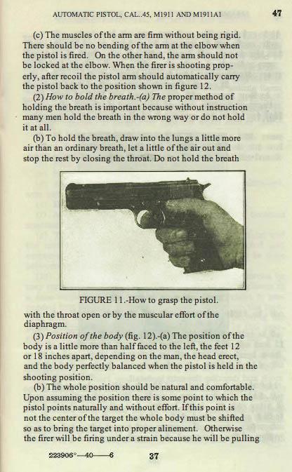 M1911 Manual - Page 43