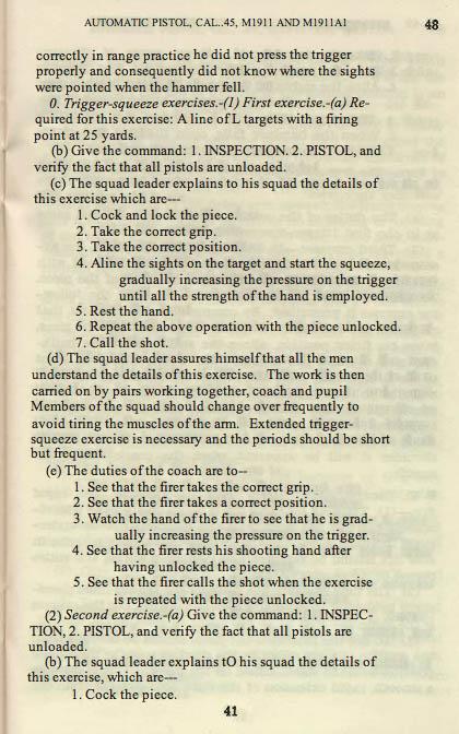 M1911 Manual - Page 47