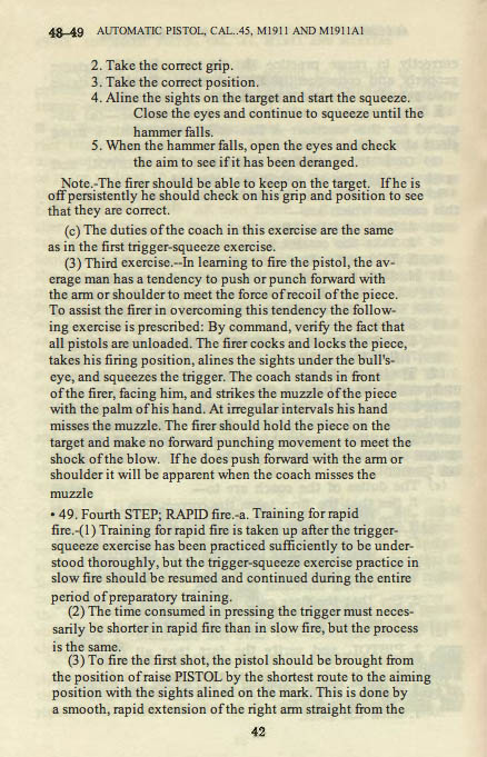 M1911 Manual - Page 48