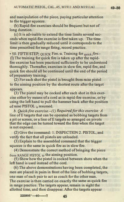 M1911 Manual - Page 51