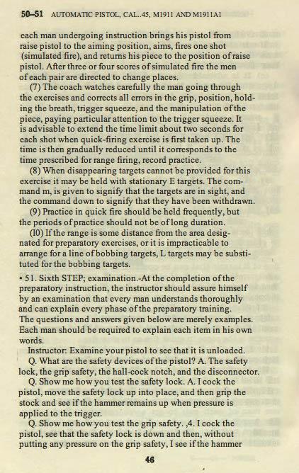 M1911 Manual - Page 52